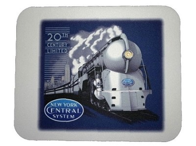 NYC 20th Century Limited Mousepad