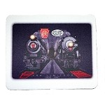 NYC 20th Cenury & PRR Broadway Limited Mousepad