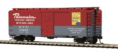 HO-Scale MTH NYCSHS 50th Anniversary Boxcar (2020 Holiday Sale Item)