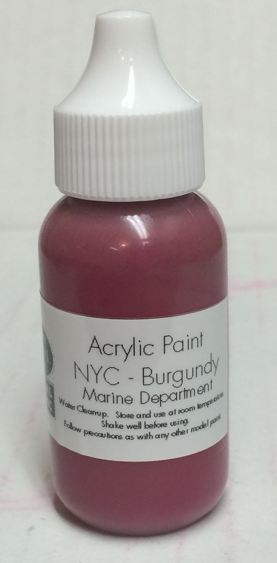 NYCS Marine Burgundy Paint (1 oz)