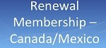 Canada/ Mexico Membership Renewal - 2021