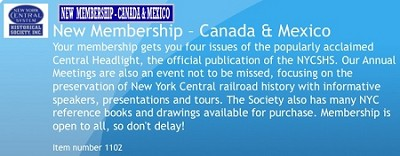 Canada/ Mexico New Membership -  2021