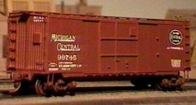 Westerfield HO-Scale MCRR 1916 Steel Automobile Boxcar w/ End Door