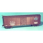 Westerfield HO-Scale NYC USRA Steel Boxcar, Murphy 7/8 Ends Kit