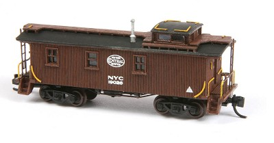 AMB N-Scale  NYCS 19000 Wood Caboose Kit