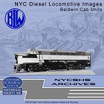 NYCSHS Photo CD -  NYC Diesel Locomotive Images - Baldwin Cab Units(Free shipping on US orders ONLY)