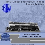 NYCSHS Photo CD -  NYC Diesel Locomotive Images - Baldwin Switchers(Free shipping on US orders ONLY)