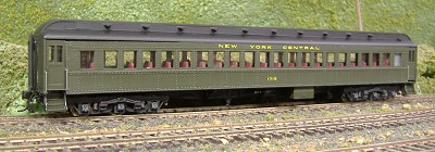 HO-Scale BCW NYC Split Letterboard Coach