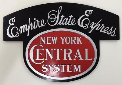 Colorful Empire State Express Logo Art