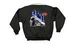 Black jacket with NYC Empire State Express Loco on back & Red NYC Logo on Front