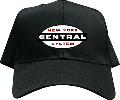 NYC Cigar Band Embroidered Black Hat