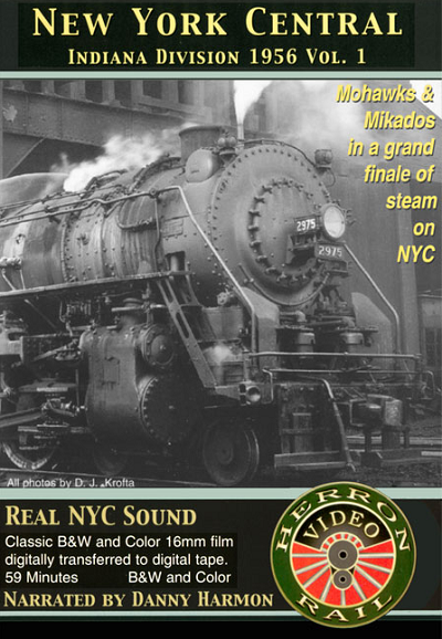 "Herron Video ""NYC Indiana Division1956"" Vol 1"