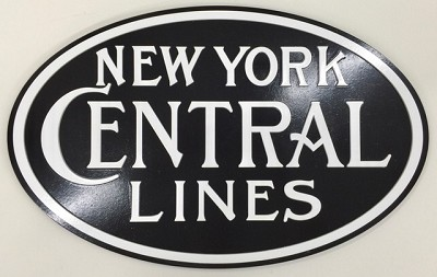 Colorful NYC Lines Logo Plaque (1900s Version)