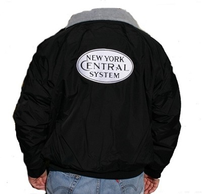 NYC White Steam Era Jackets with Front & Rear Logo   (Larger sizes)