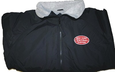NYC Red Logo Diesel Era Jackets with Front Logo  (Larger Sizes)