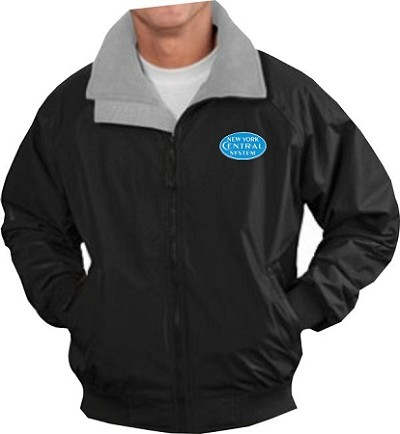 NYC BlueLogo Steam Era Jackets with Front Logo