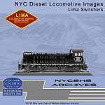 NYCSHS Photo CD -  NYC Diesel Locomotive Images - Lima Switchers (Free shipping on US orders ONLY)
