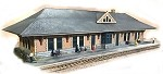 N-Scale  LS&MS Lines West Brick/Stone Station