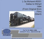 L-3a Mohawk #3001 - Dallas to Elkhart 1984(Free shipping on US orders ONLY)