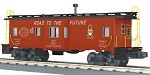 MTH O-Scale NYC Bay Window Caboose (Pre-Order)