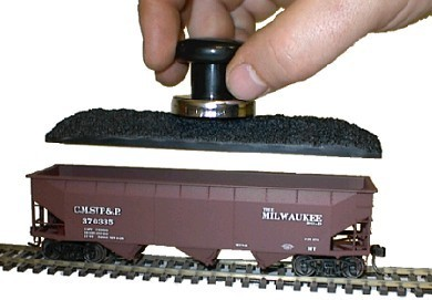 Coal Loads for Accurail Series 2300,2400,2500,2600,2700 and 2800 Twin Hoppers (HO-Scale)
