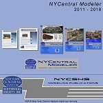 NYCentral Modeler DVD (Complete Collection 2011 - 2018)(Free shipping on US orders ONLY)