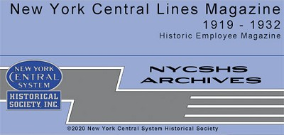 New York Central Lines Magazine 1919 - 1932(Free shipping on US orders ONLY)