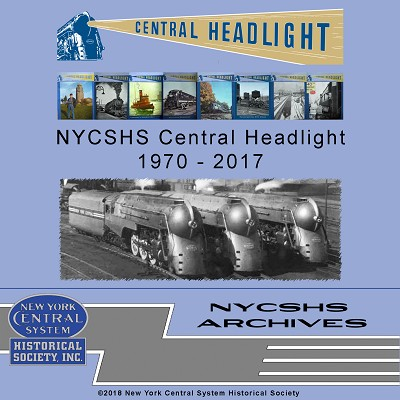 Central Headlight 1970 - 2017 on DVD  (Free shipping on US orders ONLY)