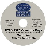 Valuation Maps - Albany - Buffalo Mainline Valuation Maps DVD(Free shipping on US orders Only)