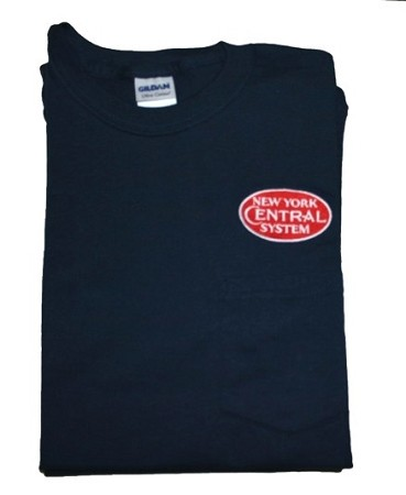 NYC Red Diesel Era Logo Embroidered Pocket T-Shirts