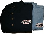 NYC Cigar Band Logo Denim Shirt