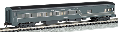 Bachmann N-Scale NYC 85' Smooth-Side Observation