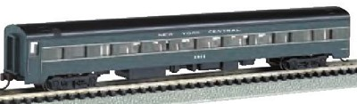 Bachmann N-Scale NYC 85' Smooth-Side Coach