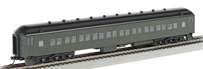 Bachmann HO-Scale 72' Heavyweight Coach (Unlettered)