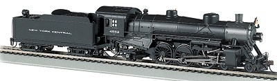 Bachmann HO-Scale NYC USRA Light Pacific 4-6-2 (DCC & Sound)