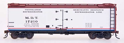 Intermountain HO-Scale MDT Wood Side Reefer (Pre-Order)