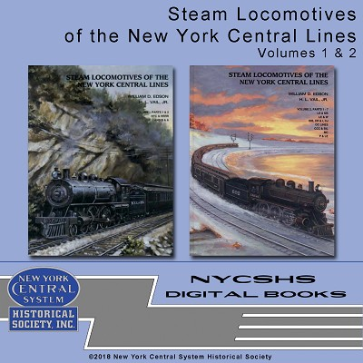 Steam Locomotives of the New York Central Lines, Vol 1 & 2 DVD Set(Free shipping on US orders Only) (2020 Holiday Sale Item)