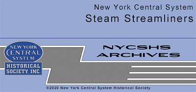 NYCSHS Photo Collection -  NYC Steam Streamliners (Free shipping on US orders ONLY)