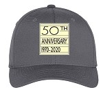 NYCSHS 50th Anniversary Hat  (Gray) (2020 Holiday Sale Item)