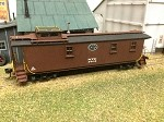 AMB HO-Scale NYC Caboose Kit (Tongue & Groove - Lot 732)
