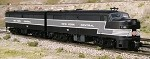 American Models S-Scale NYC ALCo FA/B-2  (AC with Sound and no power in B-Unit)
