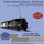 Valuation Maps - Hudson, Harlem, Putman, & Electric Divisions (Free shipping on US orders Only)