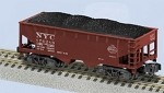 American Flyer S-Gauge NYC 2-Bay Hopper
