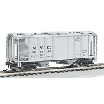 Bachmann HO-Scale NYC PS-2 Two-Bay Covered Hopper