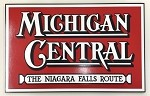 Colorful Michigan Central Logo Plaque