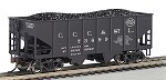 Williams  O-Gauge CCC&StL 55-Ton USRA Outside Braced Hopper