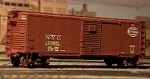 Westerfield HO-Scale NYC or MCRR 1916 Steel Automobile Boxcar