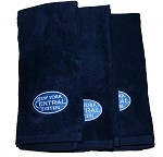 100% Cotton Terry Velour New York Central Logo Hand Towel