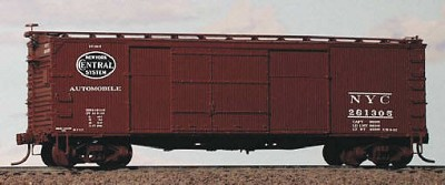 Westerfield HO-Scale NYC/MCRR 1916 DS Auto Car Rebuilt Resin Kit