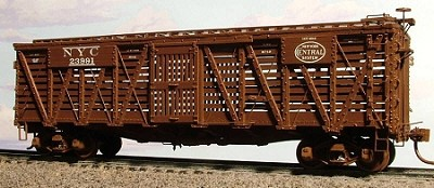 Westerfield HO-Scale NYC or NELX Stock Car Resin Kit (Modern)